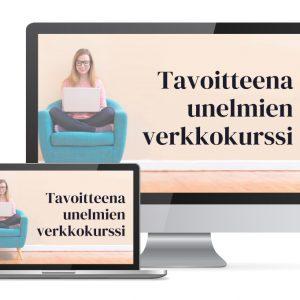 Tavoitteena unelmien verkkokurssi laptop
